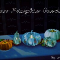 Glass Pumpkin candles by Pocci