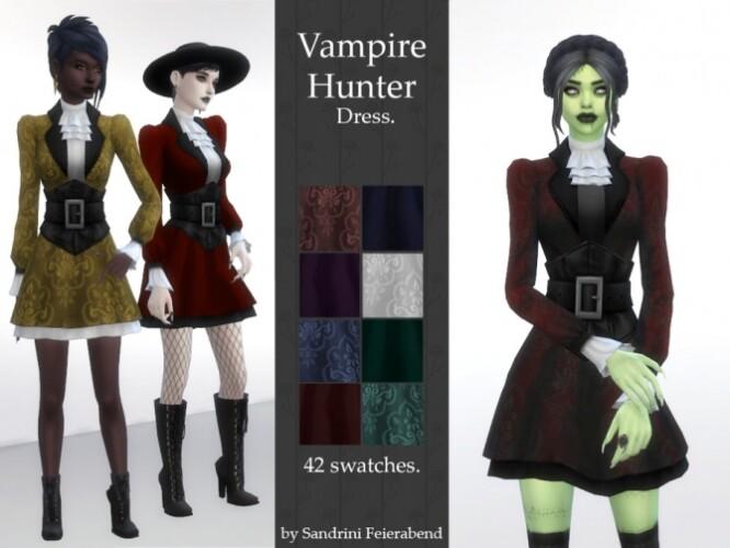 Vampire Hunter Dress by Sandrini Feierabend