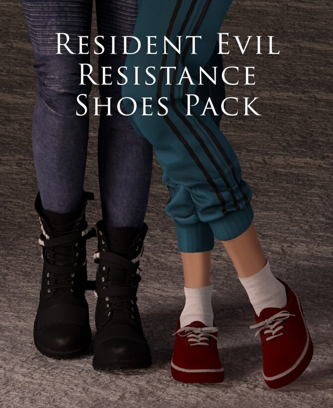 Resistance Shoes Pack at Astya96 image 91 670x822 Sims 4 Updates