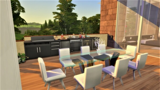 Sims 4 Modern and Natural House by gameid245 at Mod The Sims