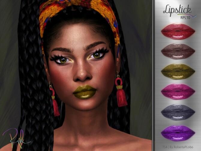 Lipstick RPL10 by RobertaPLobo at TSR image 9118 670x503 Sims 4 Updates