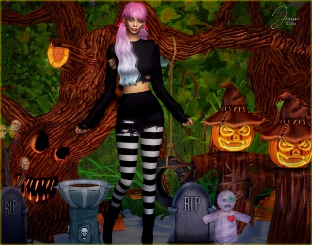 DECORATIVE HALLOWEEN To Cute To Scare 6 ITEMS