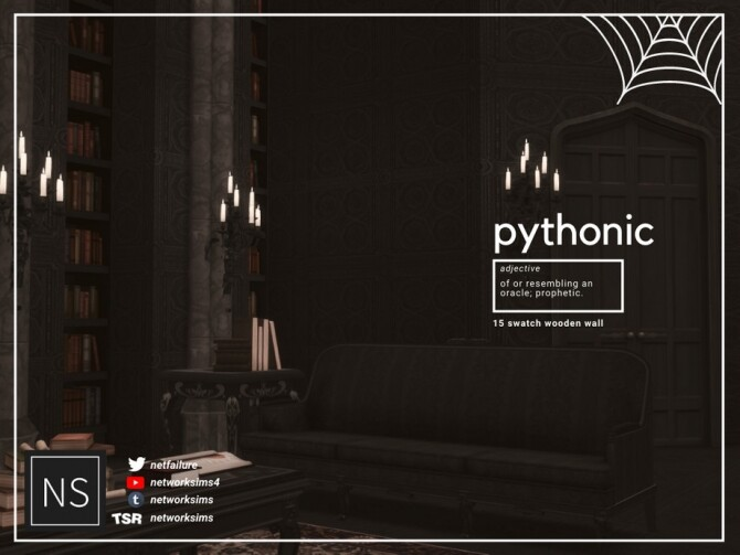 Pythonic Wooden Walls by Networksims at TSR image 9218 670x503 Sims 4 Updates