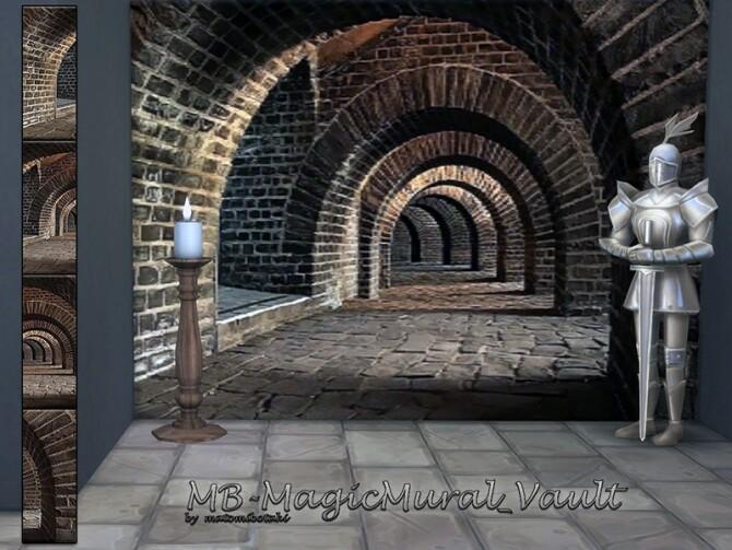 MB Magic Mural Vault by matomibotaki at TSR image 9416 670x503 Sims 4 Updates