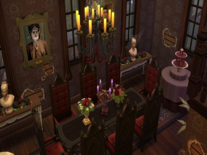 Sims 4 Haunted Manor by susancho93 at TSR