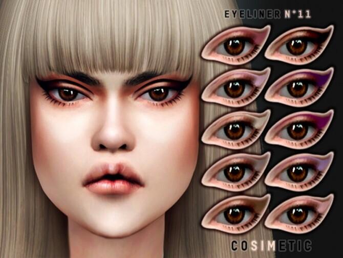 Sims 4 Eyeliner N11 by cosimetic at TSR
