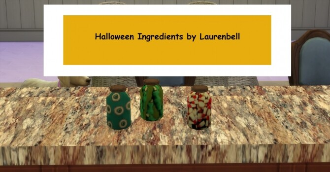 Sims 4 Creepy Halloween Ingredients by Laurenbell2016 at Mod The Sims