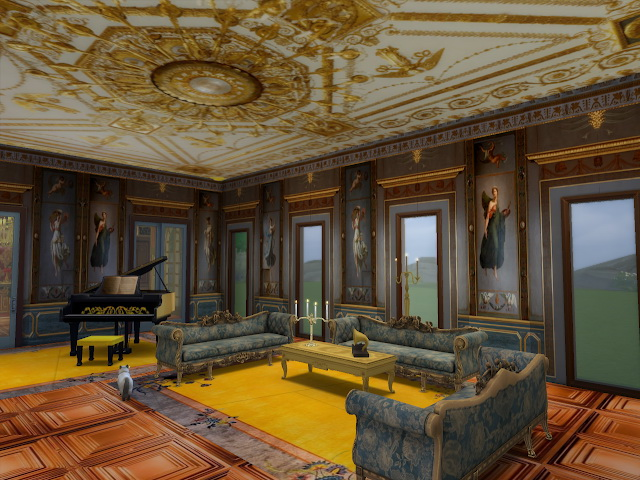 Amazing Golden Ornamented Ceilings