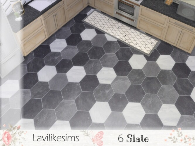 Six Slate tiles by lavilikesims