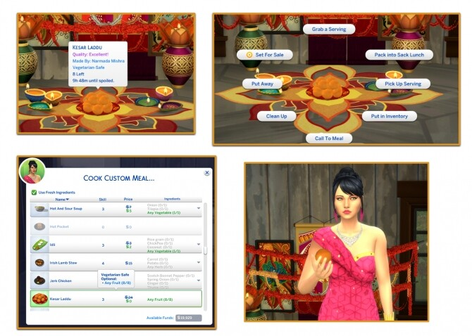 KESAR LADDU at Icemunmun image 1008 670x478 Sims 4 Updates