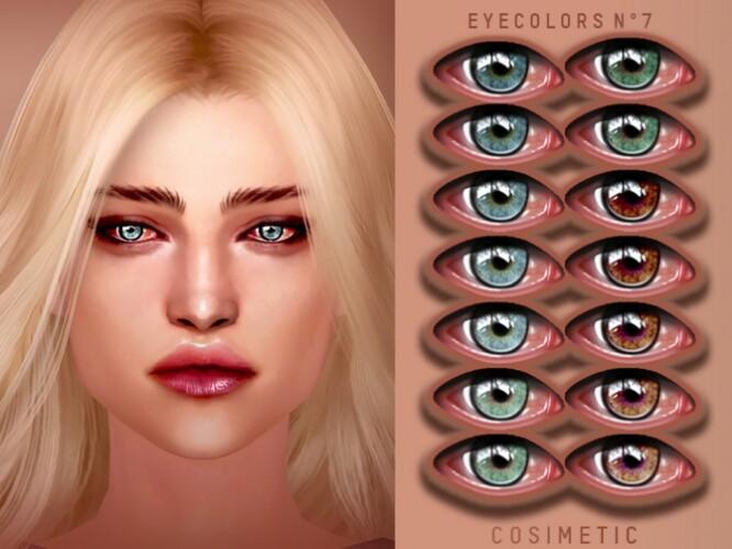 Eyecolors N7 by cosimetic