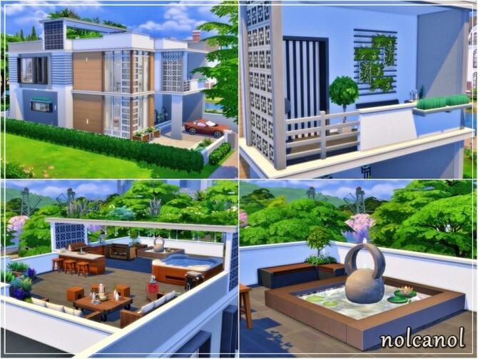 Miya Tinselha home by nolcanol at TSR image 1014 670x503 Sims 4 Updates