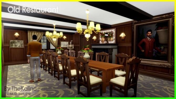 Old Restaurant at Kalino image 1018 670x377 Sims 4 Updates