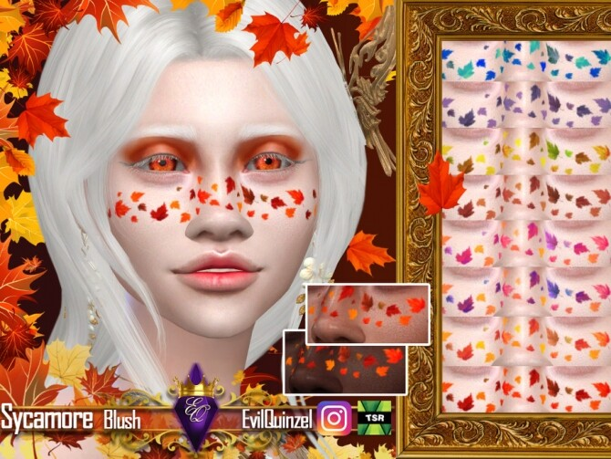 Sims 4 Sycamore Blush by EvilQuinzel at TSR