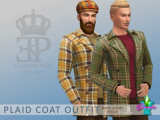 Plaid Coat Outfit by SimmieV