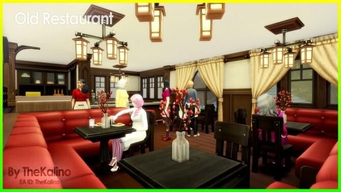 Old Restaurant at Kalino image 1025 670x377 Sims 4 Updates