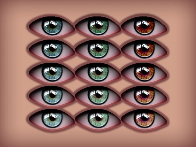 Sims 4 Eyecolors N7 by cosimetic at TSR