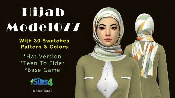 Hijab Model077 & Wilona Suits at Aan Hamdan Simmer93 image 1045 670x377 Sims 4 Updates