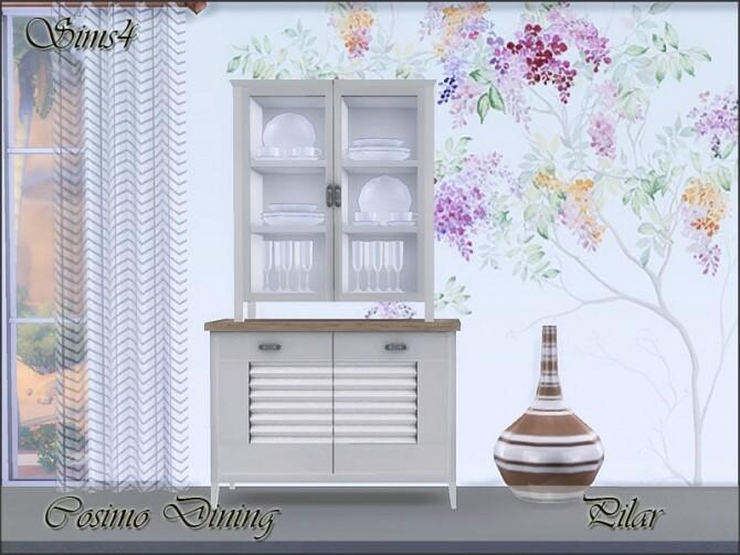 Sims 4 Cosimo Dining by Pilar at TSR