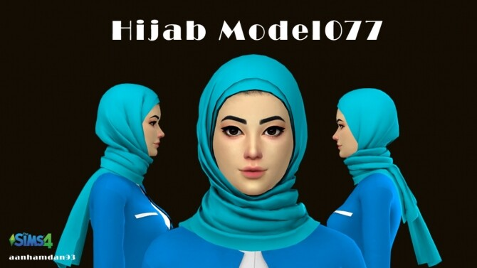 Hijab Model077 Wilona Suits