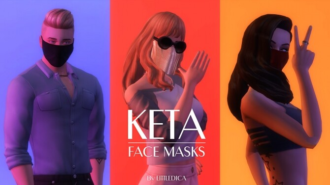 Myss Keta Inspired Face Masks by littledica