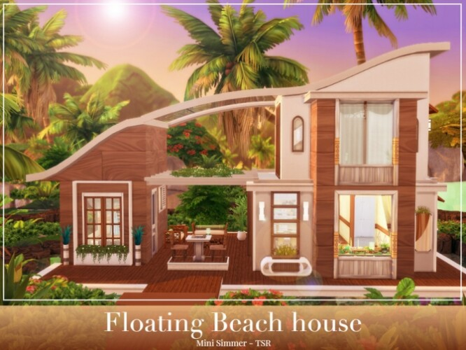 Floating Beach House by Mini Simmer