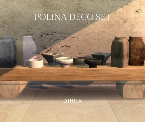 Polina Deco Set