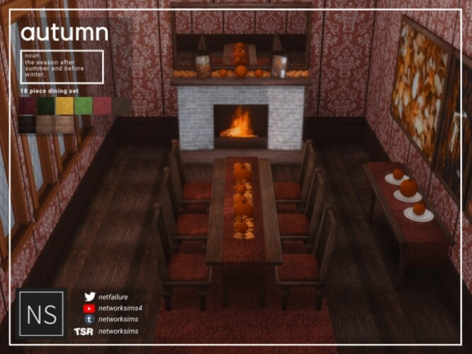 Autumn Dining by Networksims