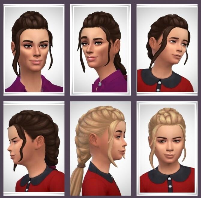 Sims 4 Anett Hair at Birksches Sims Blog