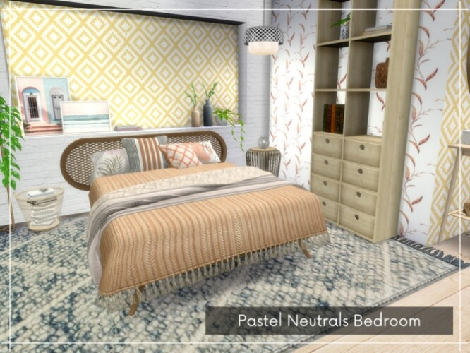 Pastel Neutrals Bedroom by A.lenna