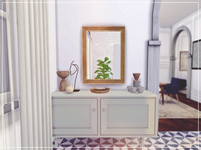 Sims 4 Parisien Kitchen Room by Summerr Plays at TSR