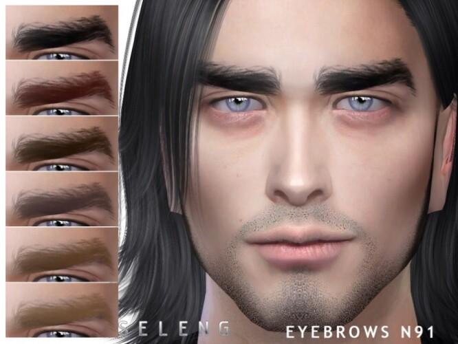 Eyebrows N91 by Seleng