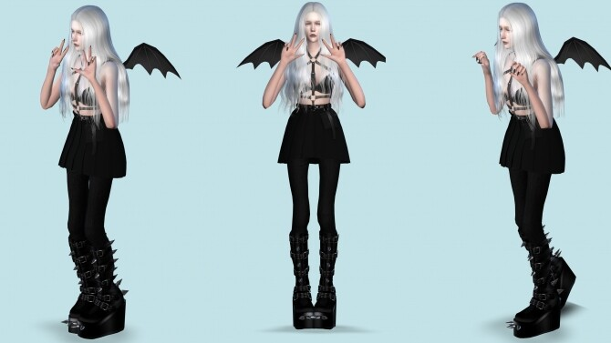 Sims 4 Anime Cute Poses by jmac13 at Mod The Sims