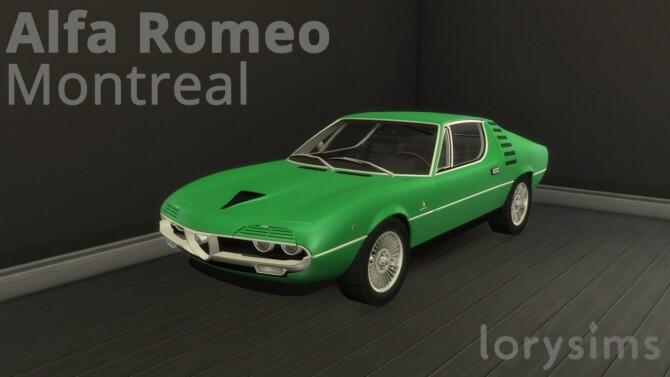 Alfa Romeo Montreal by LorySims
