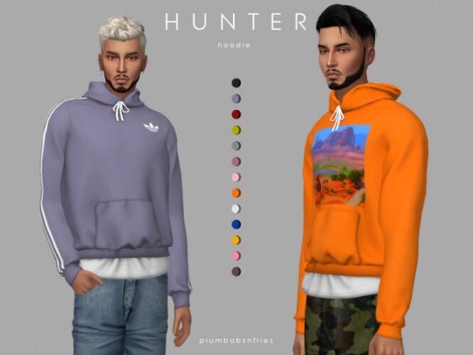 HUNTER hoodie by Plumbobs n Fries