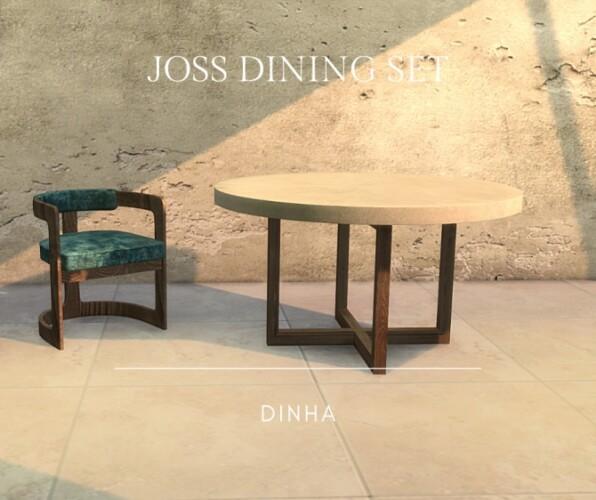 JOSS DINING SET