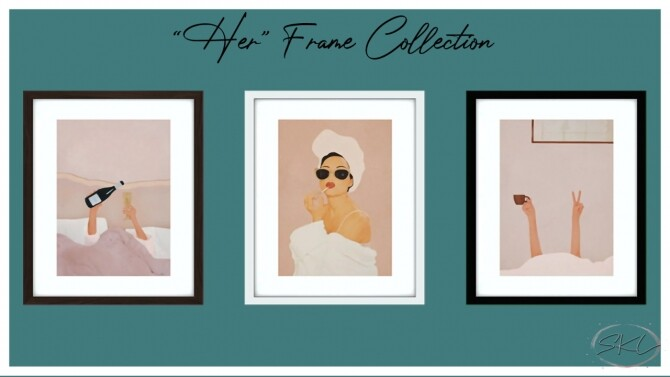 Her Frame Collection Hanging Tote bag