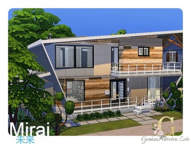 Mirai house by GenkaiHaretsu