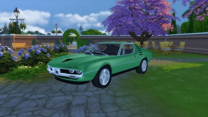 Sims 4 Alfa Romeo Montreal at LorySims