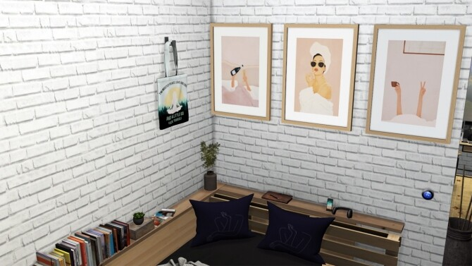 Her Frame Collection + Hanging Tote bag at Sunkissedlilacs image 11611 670x377 Sims 4 Updates