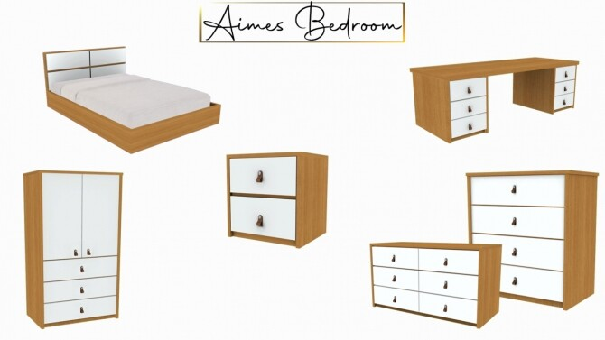 Aimes Bedroom at Sunkissedlilacs image 11710 670x377 Sims 4 Updates