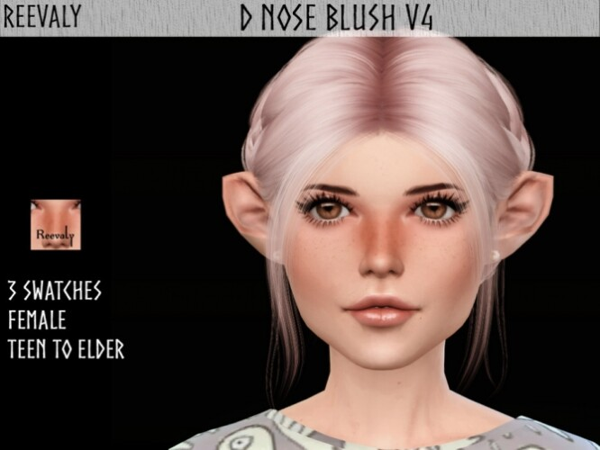D Nose Blush V4 by Reevaly