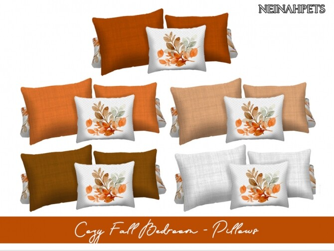 Sims 4 Cozy Fall Bedroom by neinahpets at TSR