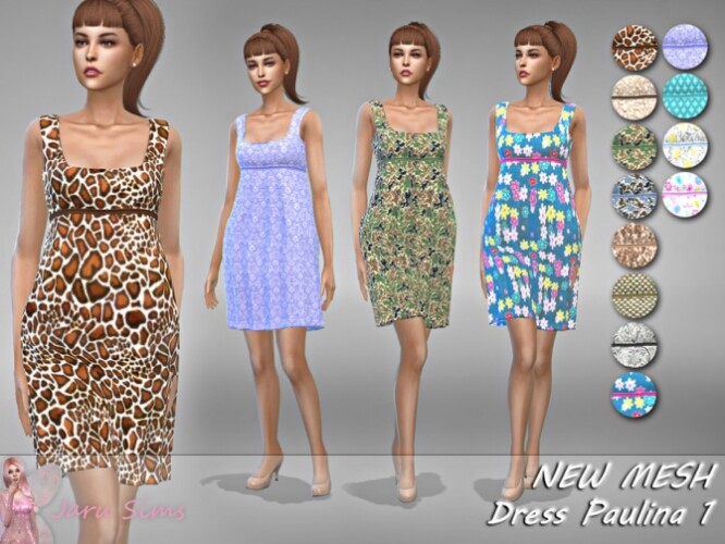 Dress Paulina 1 by Jaru Sims