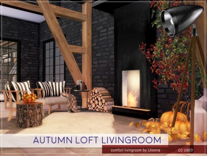 Autumn Loft Livingroom by Lhonna