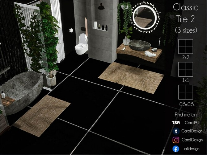 Sims 4 Classic Tile 2 by Caroll91 at TSR