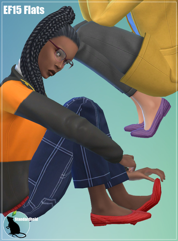Sims 4 EF15 Flats at Standardheld