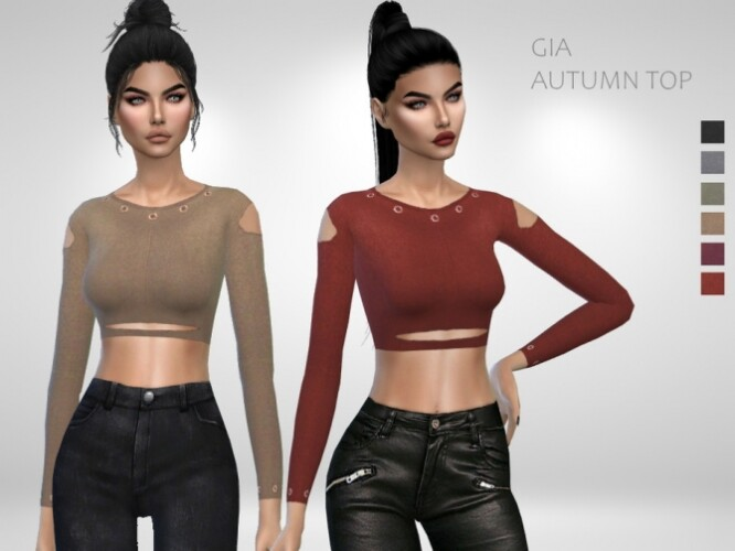 Gia Autumn Top by Puresim