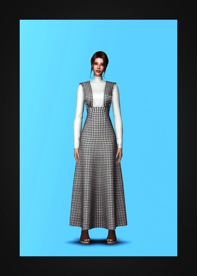 Alice Dress at Gorilla image 1204 670x938 Sims 4 Updates