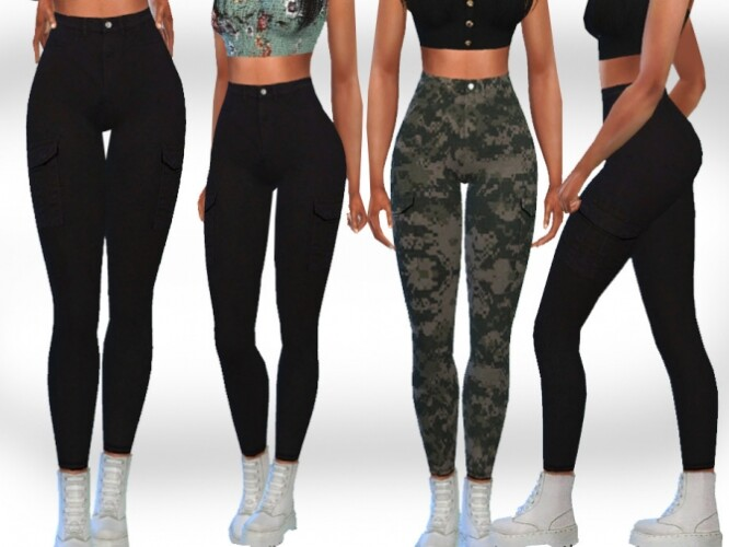 Trendy Cargo Pants by Saliwa